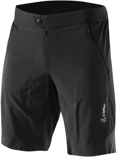Löffler Superlitano Comfort Stretch Superlite Bike Shorts Herren schwarz